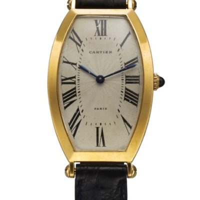 Cartier, Paris, Tonneau Alongée,