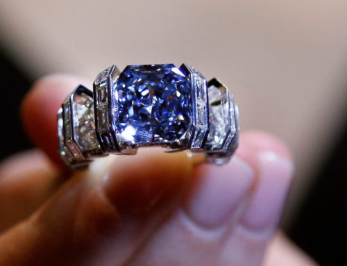 The 'Sky Blue Diamond'