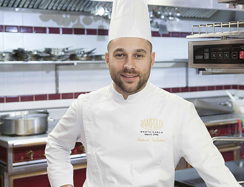 "Executive chef Antonio Salvatore "" Rampoldi Monte-Carlo """