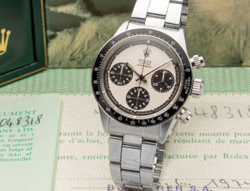 ROLEX, REF. 6263, PAUL NEWMAN DAYTONA, ORIGINAL BOX, WARRANTY