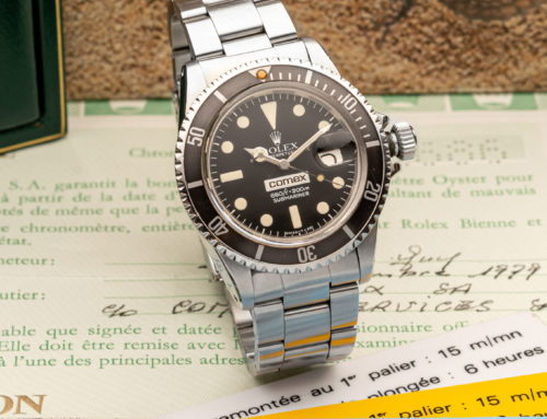 ROLEX REF. 1680 SUBMARINER COMEX ANTIQUORUM GENEVE